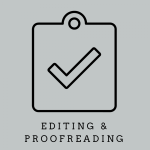 edition and proofreading
