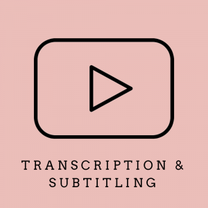 transcription and subtitling